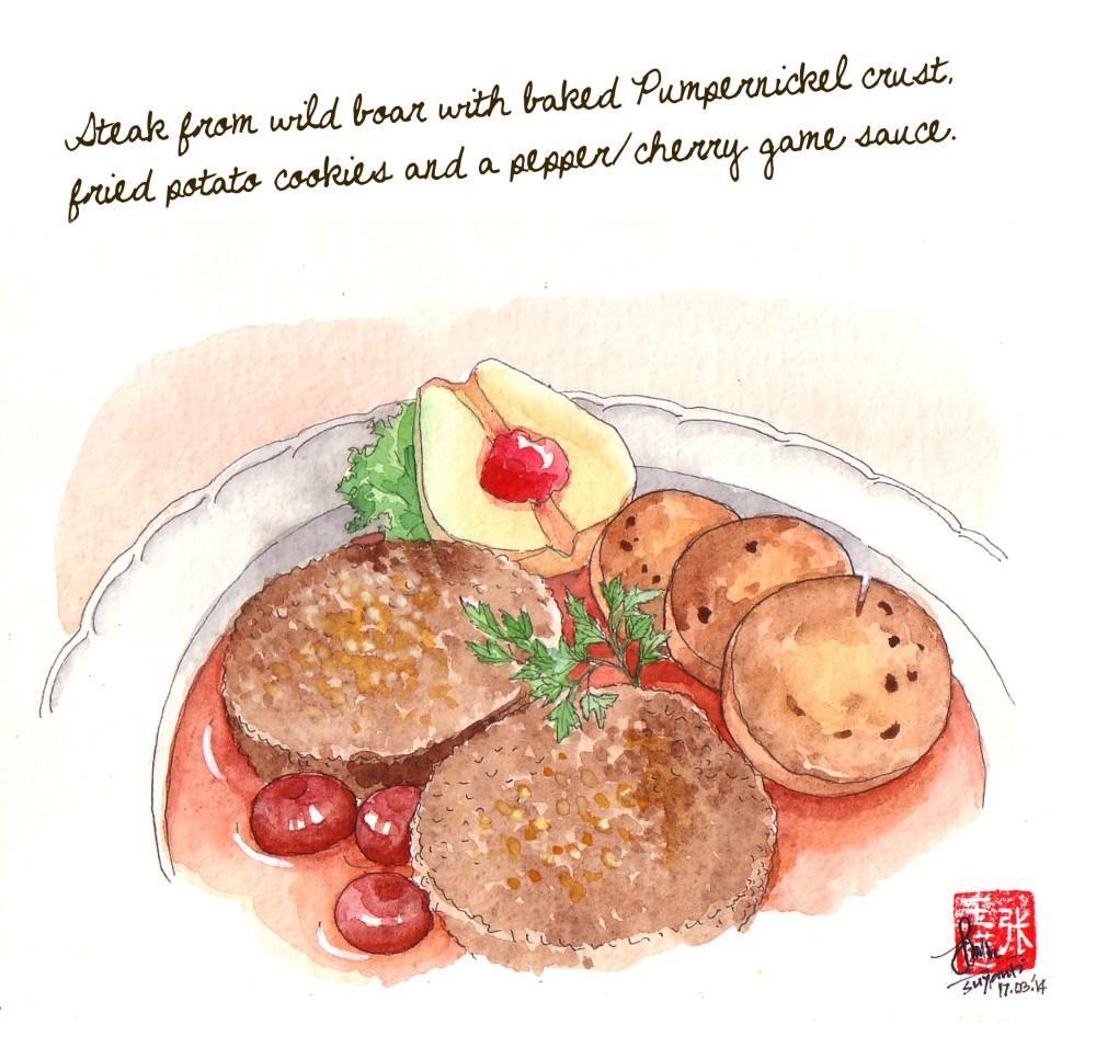 food sketch 2